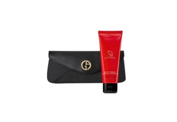 Shoppers Drug Mart Canada GWP Shop Giorgio Armani Fragrance Free Pouch Lotion - Glossense