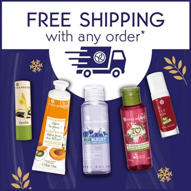 Yves Rocher Canada Free Shipping Canadian Deals March 2021 - Glossense