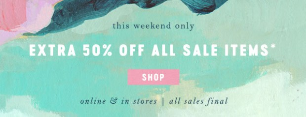 Anthropologie Canada Spring Sale Save on Beauty Wellness 2021 Canadian Deals - Glossense