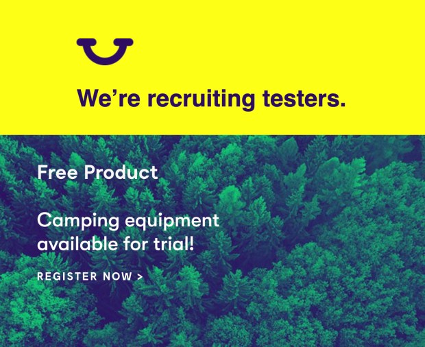 Home Tester Club Canada Apply to Try Camping Equipment Canadian Deals - Glossense