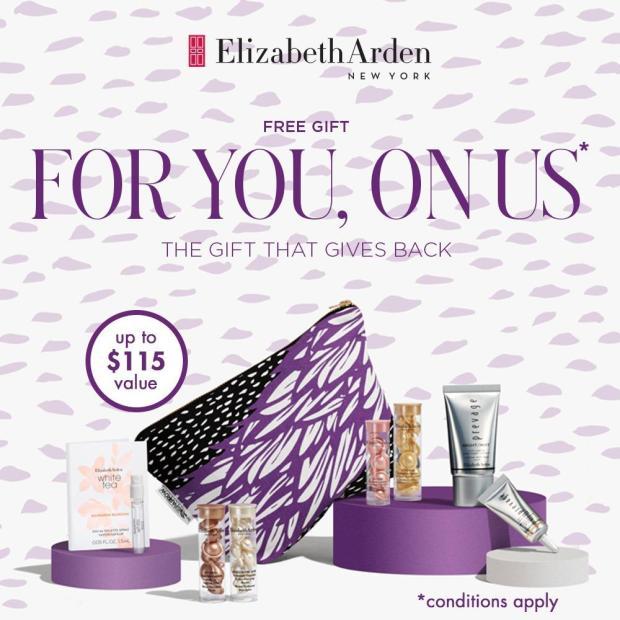 Hudson's Bay Canada Free Elizabeth Arden Spring Gift Canadian Deals 2021 - Glossense