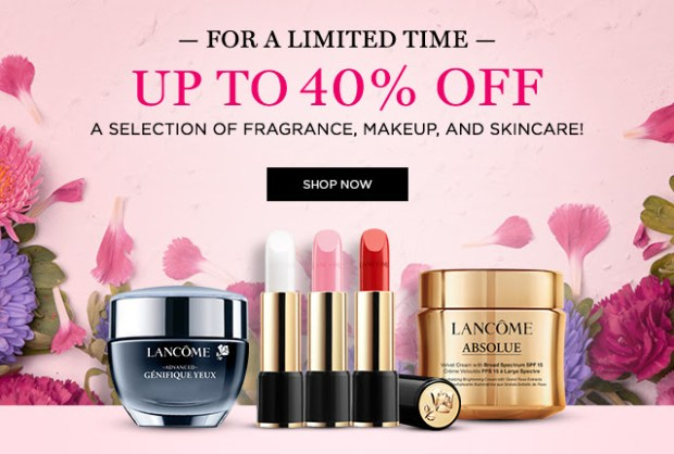 Lancome Canada Spring Sale Canadian Deals 2021 - Glossense