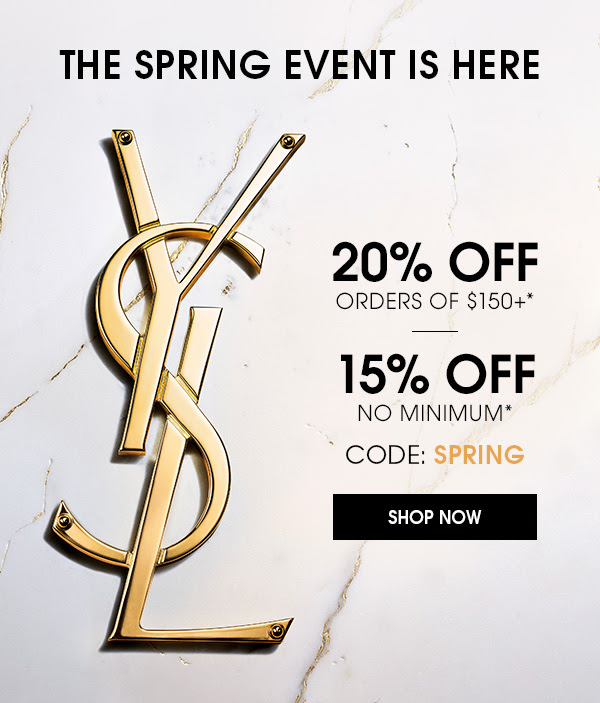 Yves Saint Laurent Canada Spring Event Canadian Deals 2021 - Glossense