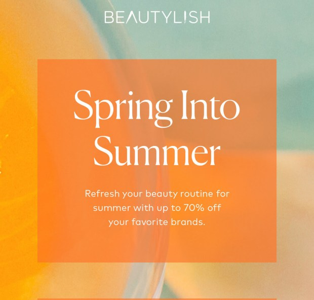 Beautylish Canada Summer Sale 2021 Canadian Deals - Glossense
