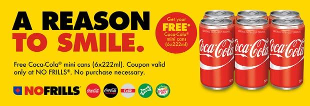 No Frills Canada Free Mini Coke Cans Coupons Canadian Freebies - Glossense