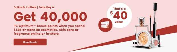 Shoppers Drug Mart Canada Bonus PC Optimum Points Offer May 3 6 - Glossense