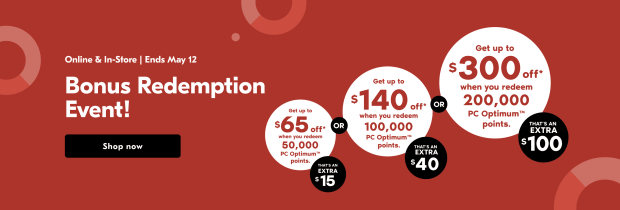 Shoppers Drug Mart Canada Spend Your Points Bonus Redemption Event May 2021 - Glossense