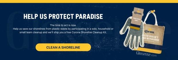 Canadian Freebies Free Corona Shoreline Clean-Up Kit - Glossense