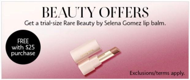 Sephora Canada Free Rare Beauty Lipstick - Glossense