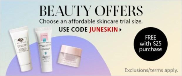 Sephora Canada Promo Code Choose a Free Affordable Skincare Deluxe Sample - Glossense