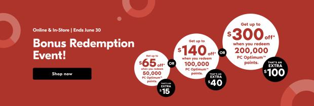 Shoppers Drug Mart Canada Spend Your Points Bonus Redemption Event June 30 2021 - Glossense