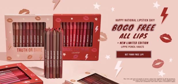 Colourpop Canada National Lipstick Day 2021 Canadian Deals - Glossense