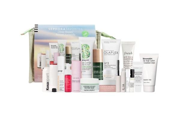Sephora Canada Favorites Set Clean Beauty Kit Summer 2021 - Glossense