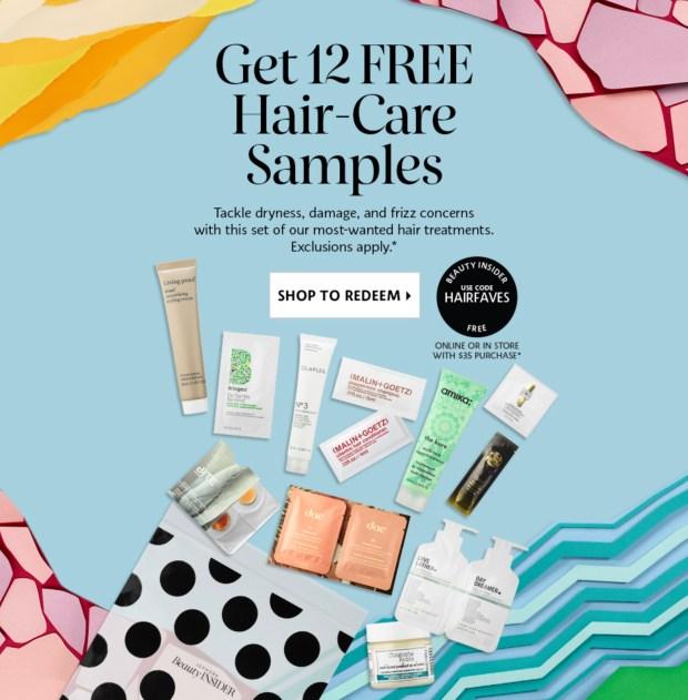Sephora Canada Promo Code Free Haircare July 2021 Sample Set - Glossense