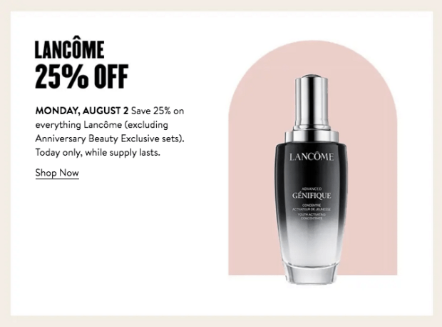 Nordstrom Canada Glam Up Days 2021 Canadian Deals Day 6 - Glossense