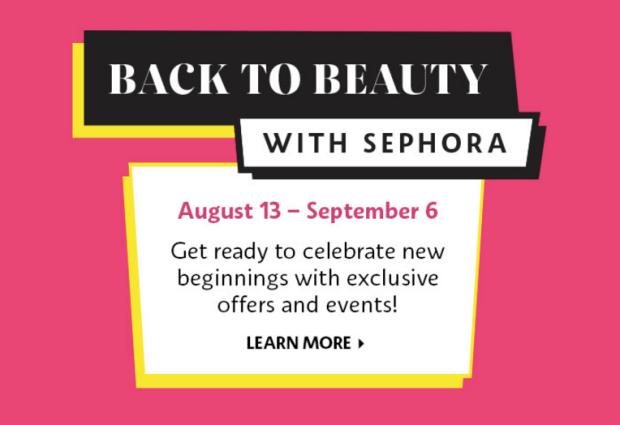 Sephora Canada Back to Beauty Event Summer 2021 School Sale - Glossense