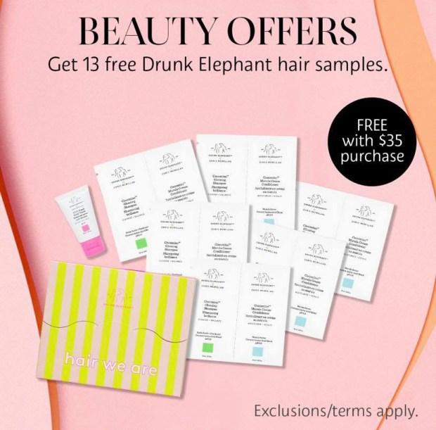 Sephora Canada Promo Code Free Drunk Elephant Sample Set - Glossense