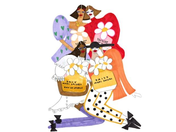 Canadian Freebies Free Marc Jacobs Daisy Floral Fragrance Perfume Sample - Glossense