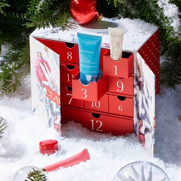 Clarins Canada 2021 Advent Calendar Christmas Holiday Countdown - Glossense