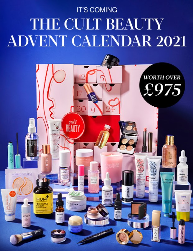 Cult Beauty Canada 2021 Advent Calendar Canadian Holidayy Christmas Countdown Waitlist - Glossense