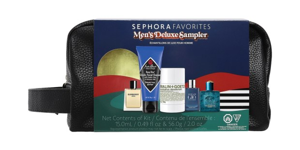 Sephora Canada Favorites Set Men's Deluxe Sampler Kit September Fall 2021 Collection Canadian New Releases - Glossense