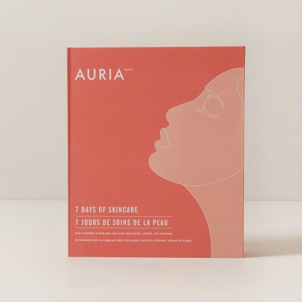Indigo Canada Auria 7 Days of Skincare 2021 Advent Calendar Canadian Holiday Christmas Countdown - Glossense