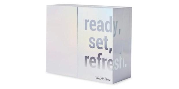 Saks Fifth Avenue Canada Ready Set Refresh 14-Piece Advent Calendar Canadian Holiday Christmas Countdown - Glossense