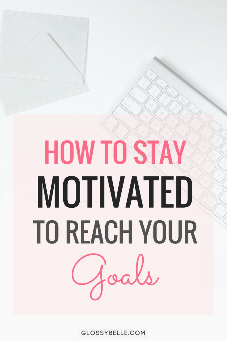 It's easy to get excited about a new project or goal. But it's even easier to lose motivation if you don't set your mind on completing it, if you feel overwhelmed, sidetracked, or run into obstacles. Here are some tips on how to stay motivated to reach your goals! motivated | girlboss | entrepreneur | slay your goals | inspiration | get things done | productive #motivation #newyearsresolution #goals #goalsetting #newyears #selfimprovement #success #productivity