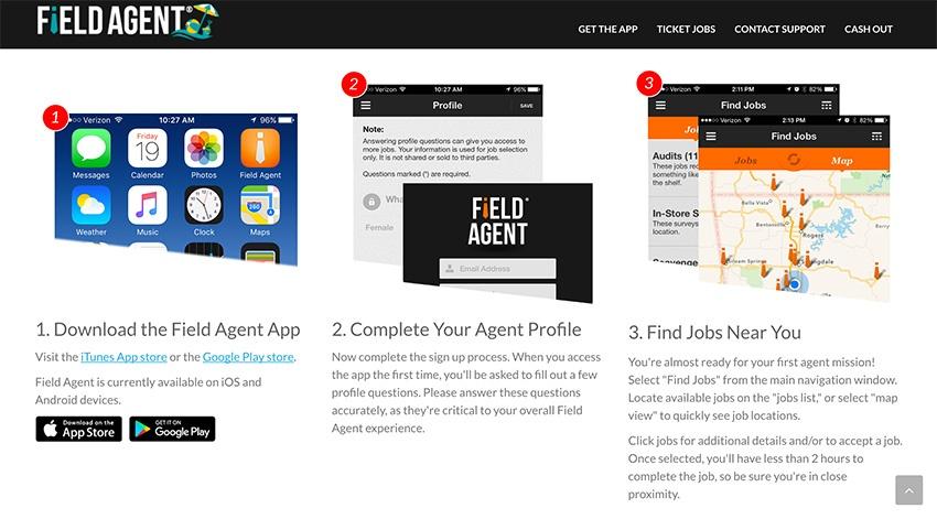 Field Agent Paid Surveys