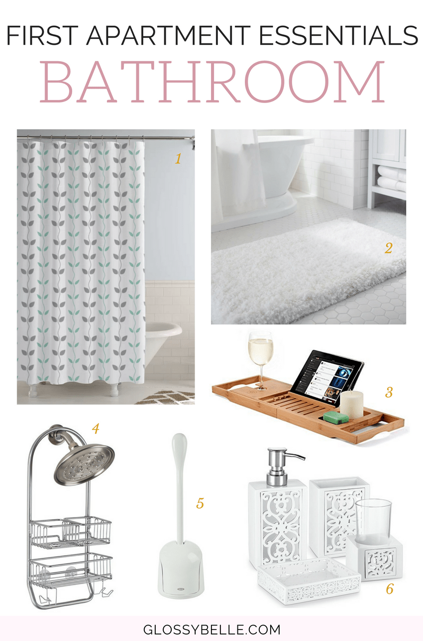 If you're about to move out into your first apartment, here are the most important apartment essentials you'll need to be ready to move out on your own. adulting | move out for the first time | moving out | independence | college essentials | college dorm | room essentials | home decor | bathroom essentials | washroom essentials #apartment #furniture #furnitureideas #adulting #homedecor #bathroomideas #bathroomdecor #bathroom