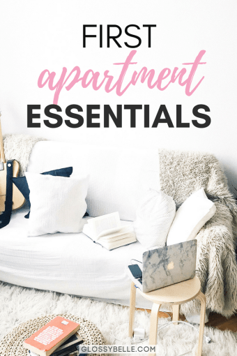 If you're about to move out into your first apartment, here are the most important apartment essentials you'll need to be ready to move out on your own. adulting | move out for the first time | moving out | independence | college essentials | college dorm | room essentials | home decor | cleaning essentials | kitchen essentials | bedroom essentials | bathroom essentials | living essentials #apartment #furniture #furnitureideas #adulting #homedecor #homedesign #roomdecor
