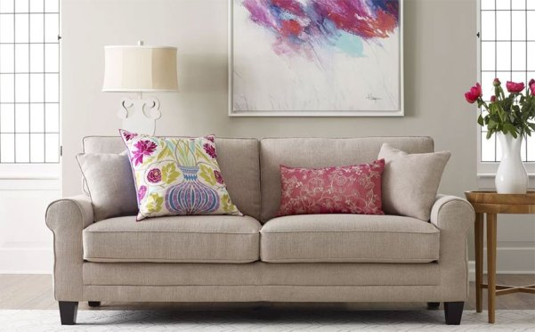 serta living room couch