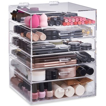 beautify acrylic make up storage box