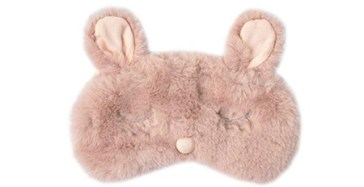 fuzzy sleep mask