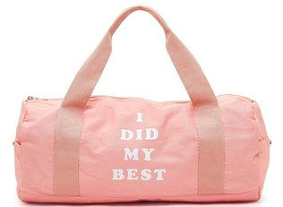 i did my best gym bag