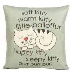 sleepy kitty big bang theory pillow