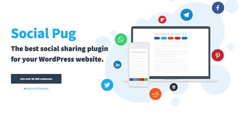 social pug plugin