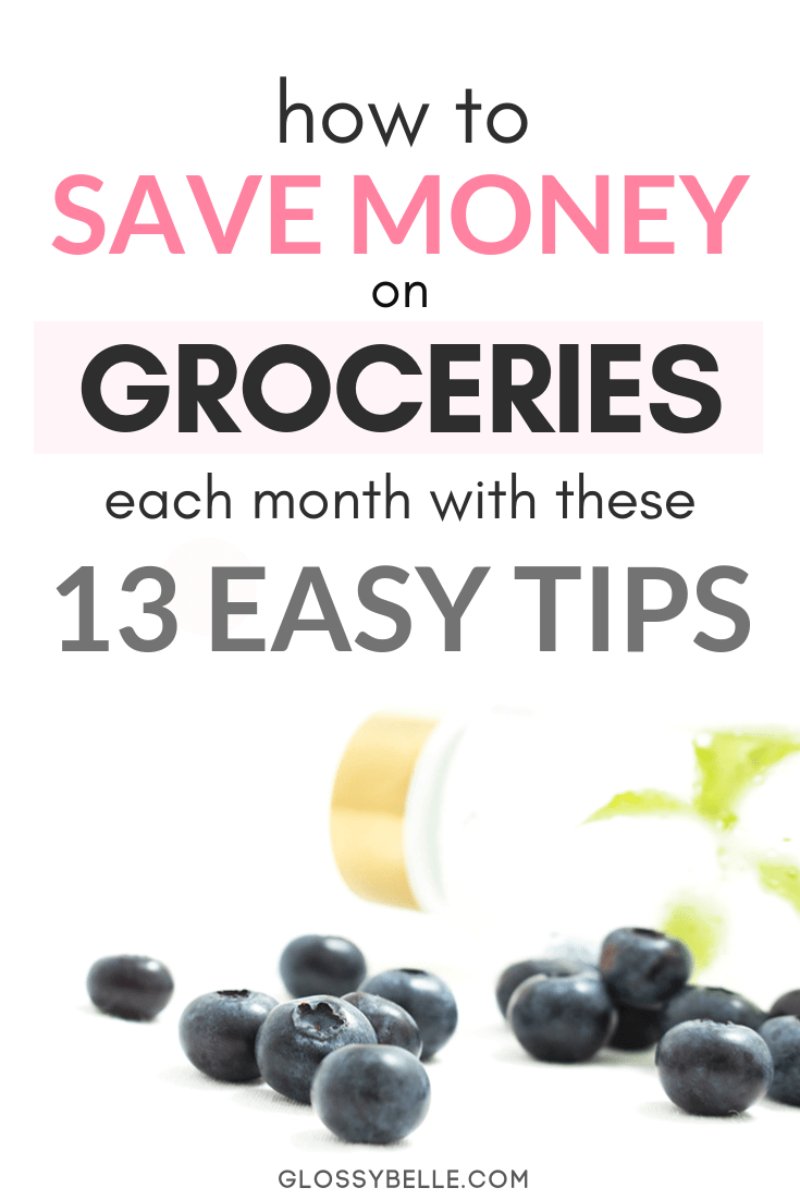 Food is one of the most basic essentials in our daily lives but that doesn't mean we need to spend a ton of money to feed ourselvesright. Here are 13 easy and simple ways to cut your grocery bill in half and feed yourself happily and healthily while saving money on a tight budget. | cashback | shopping apps | couponing | reduce expenses | grocery shopping #frugal #frugalliving #cashback #savemoney #savingmoney #moneysavingtips #budgeting