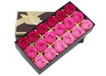 floral scented rose soap petals