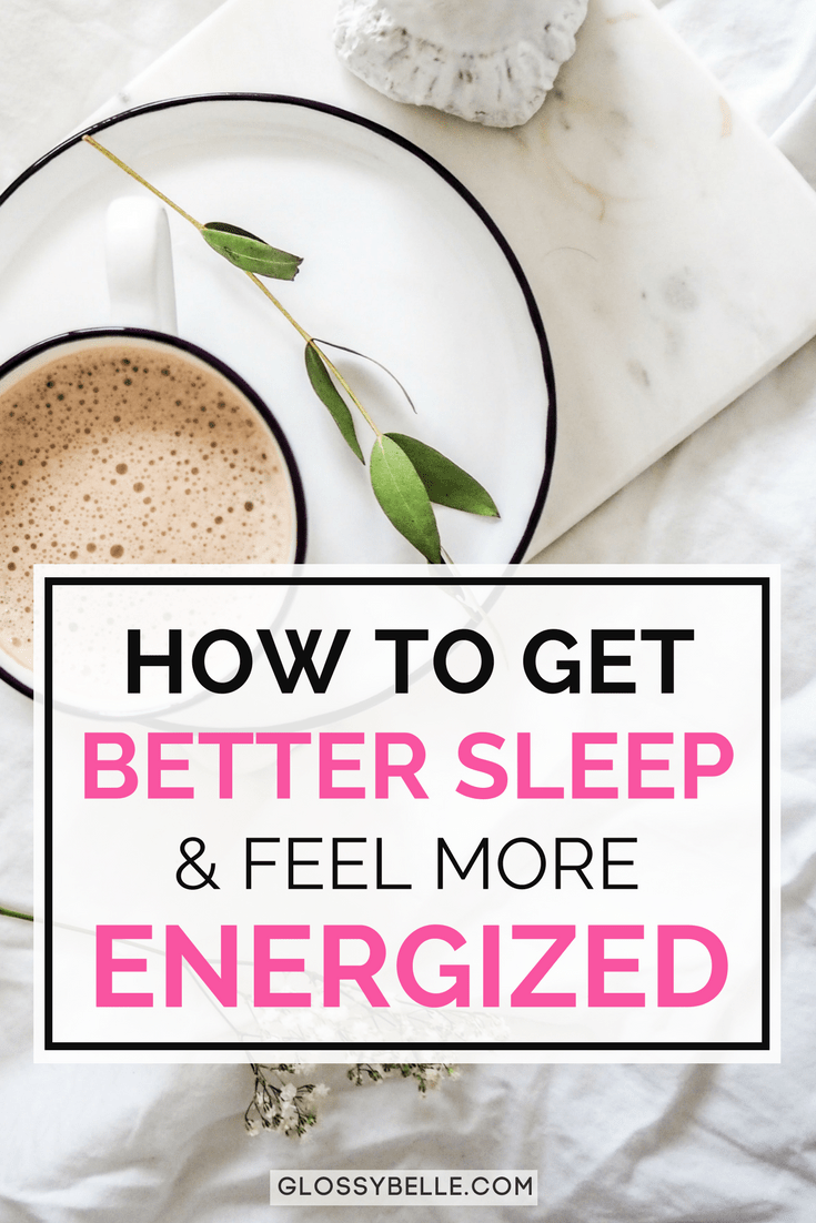 One of the worst things that can happen when you know you have a busy day ahead of you is to feel tired, fatigued, and unenergized. If you have trouble getting a good night's rest, here are 14 tips to get better sleep at night so you can feel more energized, productive, focused, and ready to take on the day! | productivity | fatigue | sleep better | self-care | health | wellness | insomnia | bedtime | relaxation | healthy habits | healthy lifestyle | stress relief | sleep hygiene