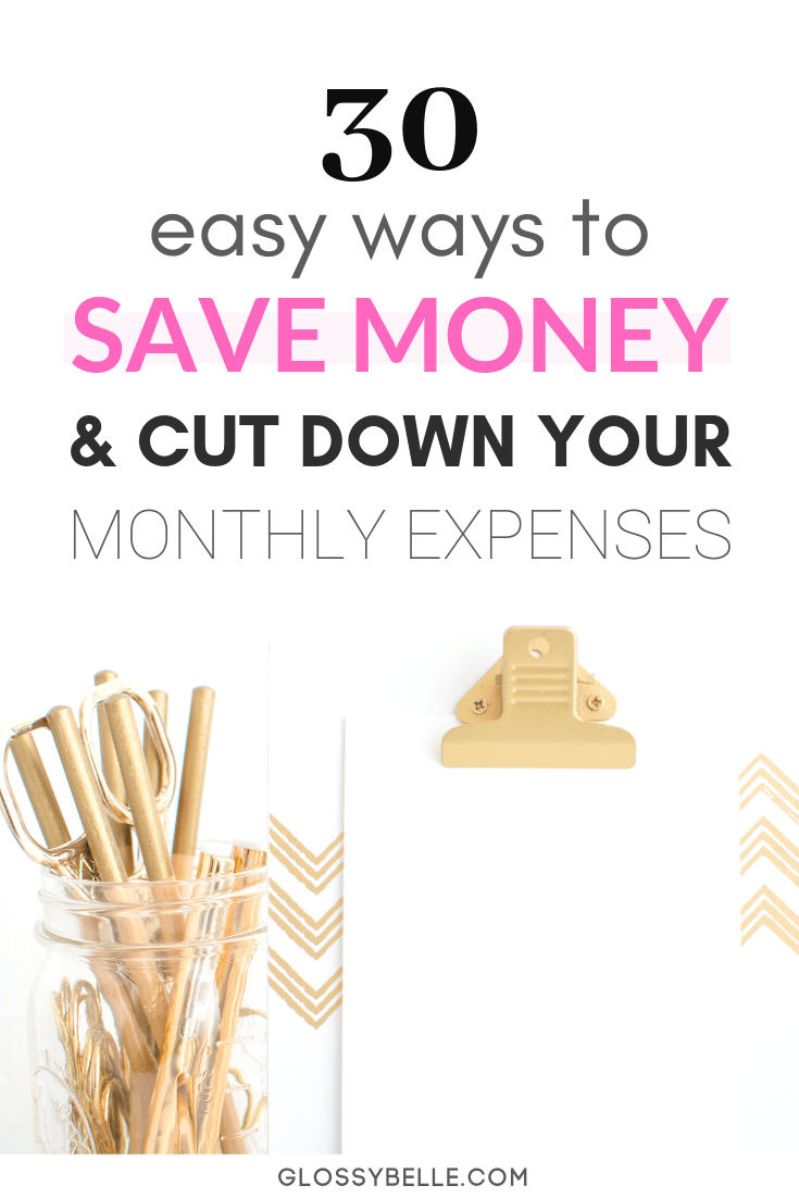 If you have trouble saving money and you want to stop living from paycheck to paycheck, here are over 25 easy money hacks to save money every day to help lower your monthly expenses. Combining some or all of these together will help you save hundreds or thousands of dollars per year! | shopping apps | get out of debt | money saving tips | saving money hacks #savingmoney #savemoney #budgeting #money #moneytips #moneysavingtips #personalfinance #frugal #frugalliving