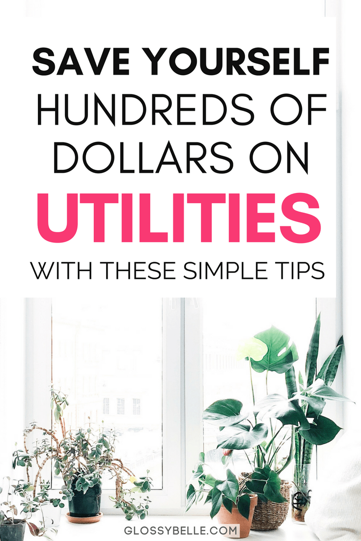 When you live on your own, whether you rent or own, every penny counts! If you're looking to lower your utility bill, here are 10 simple tips that can help you save money on utilities each month so you can put that money elsewhere such as towards a trip, saving for retirement, or investment vehicles. | moving out on your own | adulting #frugal #frugalliving #savemoney #savingmoney #utilities #moneysavingtips