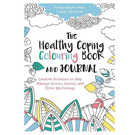 healthy coping adult coloring book and journal