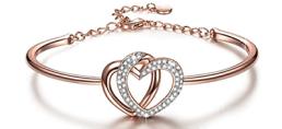 heart swarovski bracelet