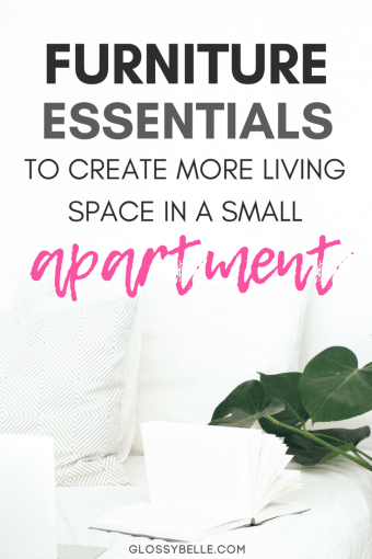 If you live in a very small space such as a college dorm or condo, a lot of times you're just not going to have enough space for all of the furniture pieces that you want. Here are over 20 compact furniture ideas that will help maximize your space in a small apartment - all without sacrificing functionality. | moving out | independence | college essentials | college dorm | room essentials | small house #furniture #furnitureideas #smallroomdesign #homedecor #homedecorideas