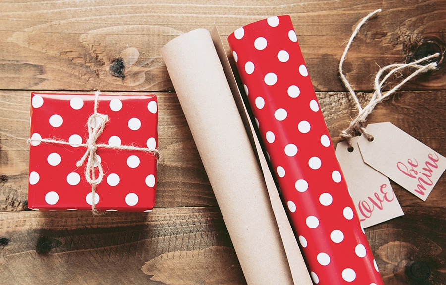 gift wrap presents