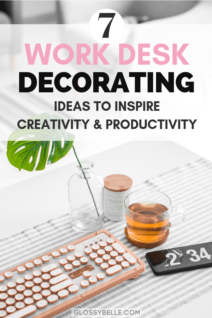 Work office decorating Professional Office Whether You Work At An Office Or At Home Its Always Great To Turn Your Glossy Belle Work Office Decorating Ideas To Inspire Creativity Productivity