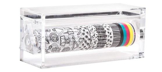 acrylic washi tape dispenser set