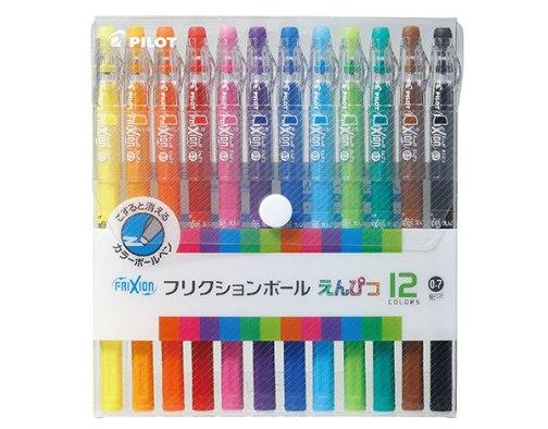 pilot frixion erasable gel pens