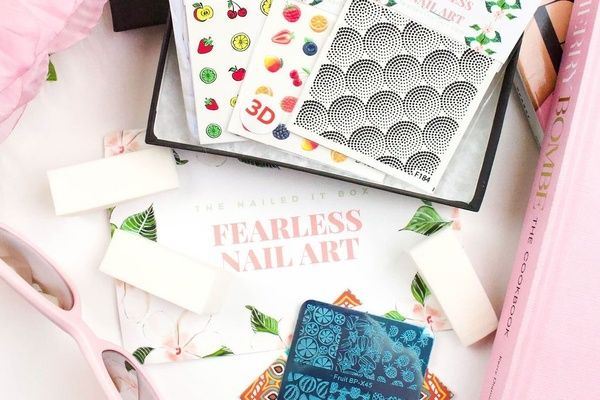 fearless nail art subscription box